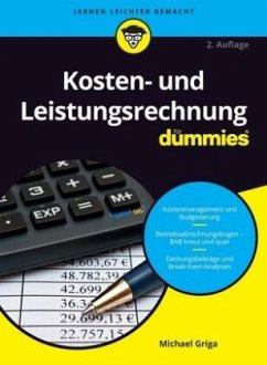 Kosten- und Leistungsrechnung für Dummies - Griga, Michael