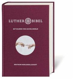 Lutherbibel mit Bildern von Michelangelo