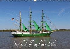 9783665583996 - K.Schulz, Eckhard: Segelschiffe auf der Elbe (Wandkalender 2017 DIN A3 quer) - Buch