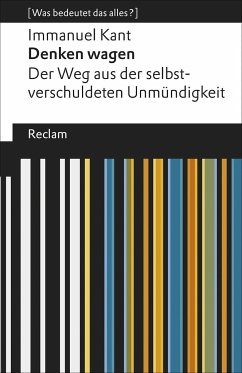 Denken wagen - Kant, Immanuel