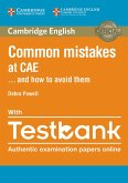Common Mistakes at CAE...and how to avoid them