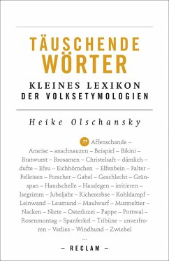 Täuschende Wörter - Olschansky, Heike