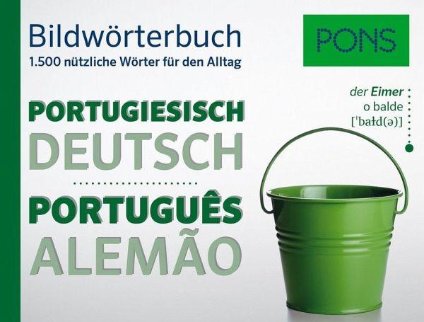 pons bildw rterbuch portugiesisch buch. Black Bedroom Furniture Sets. Home Design Ideas