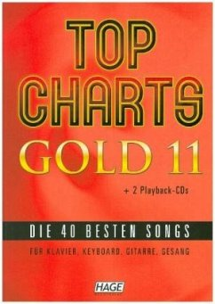 Top Charts Gold, m . 2 Audio-CDs