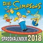 Simpsons Wandkalender 2018