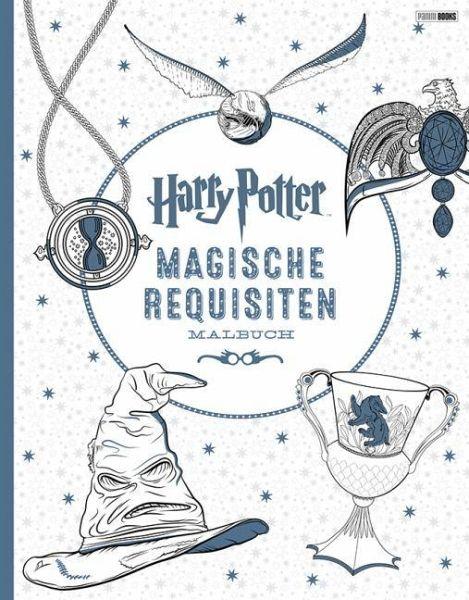 Harry Potter: Magische Requisiten Malbuch - Buch - bücher.de
