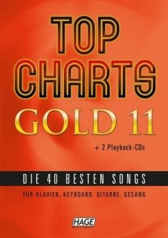 Top Charts Gold 11 (mit 2 CDs + Midifiles, USB-Stick)