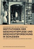 Institutionen der Geschichtspflege und Geschichtsforschung in Schlesien