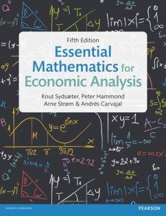 Essential Mathematics for Economic Analysis - Sydsaeter, Knut; Hammond, Peter; Strom, Arne; Carvajal, Andrés