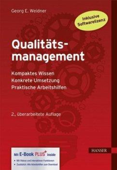 Qualitätsmanagement - Weidner, Georg E.