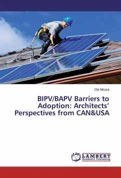 BIPV/BAPV Barriers to Adoption: Architects' Perspectives from CAN&USA