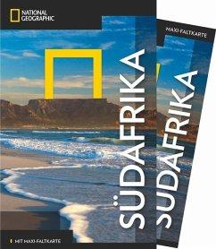 NATIONAL GEOGRAPHIC Reiseführer Südafrika mit Maxi-Faltkarte - Cosi, Roberta; Whitaker, Richard
