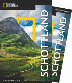 NATIONAL GEOGRAPHIC Reiseführer Schottland mit Maxi-Faltkarte - McKelvie, Robin; McKelvie, Jenny