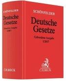 Schönfelder Deutsche Gesetze, gebundene Ausgabe ohne Fortsetzung, Ausg. I/2017