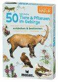 Moses MOS09762 - Expedition Natur: 50 heimische Tiere & Pflanzen im Gebirge, Lernkarten