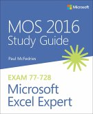 MOS 2016 Study Guide for Microsoft Excel Expert (eBook, PDF)