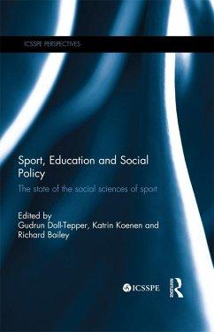Sport, Education and Social Policy (eBook, ePUB)