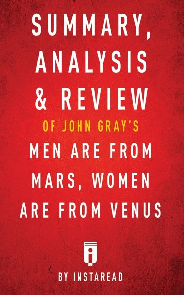 Summary, Analysis & Review of John Gray's Men Are from ...