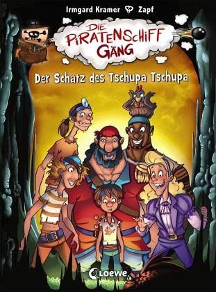 Buch-Reihe Die Piratenschiffgäng
