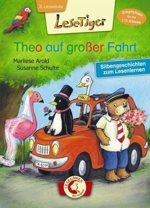 Lesetiger - Theo auf großer Fahrt