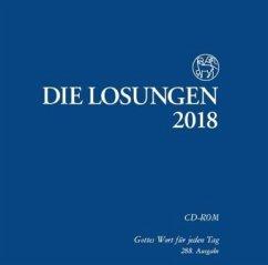 Die Losungen 2018, 1 CD-ROM