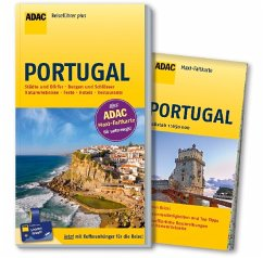 ADAC Reiseführer plus Portugal - Studemund-Halévy, Michael