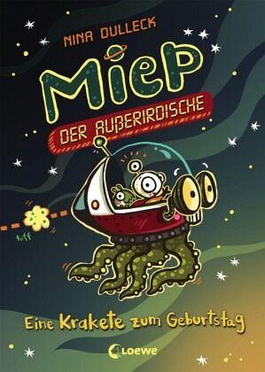 Buch-Reihe Miep, der Außerirdische
