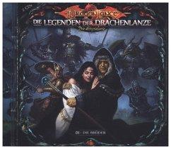 Die Legenden der Drachenlanze - Die Brüder, 2 Audio-CD - Holy, David