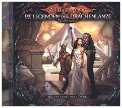 Die Legenden der Drachenlanze - Die Stadt der Göttin, 2 Audio-CD - Holy, David