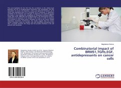 9783330002364 - Kodura, Magdalena: Combinatorial impact of BRMS1,TGFb,EGF, antidepressants on cancer cells - Buch