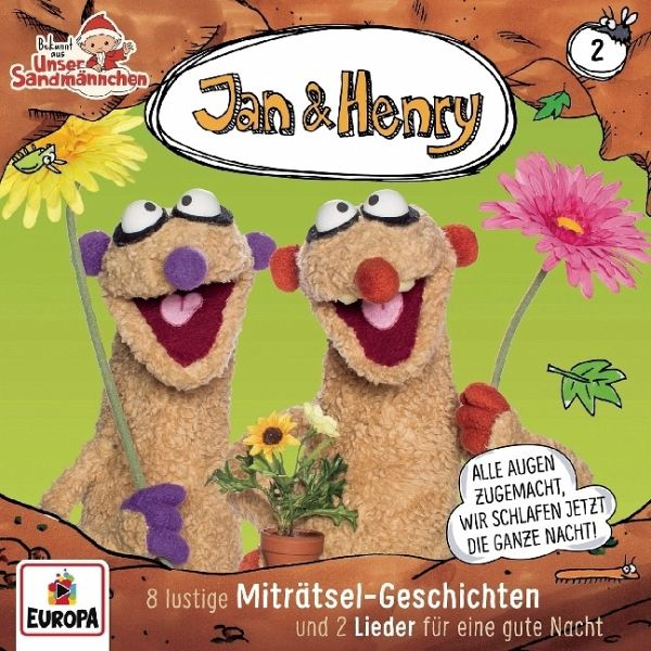 jan  henry  8 rätsel und 2 lieder 1 audiocd  hörbuch