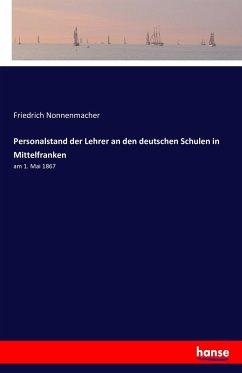 Personalstand der Lehrer an den deutschen Schulen in Mittelfranken