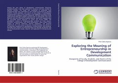 9783330000971 - Aparicio, Pink Celine: Exploring the Meaning of Entrepreneurship in Development Communication - Buch
