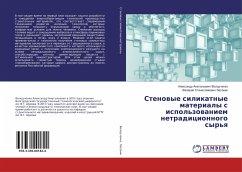 9783330001824 - Lesovik, Valerij Stanislavovich: Stenovye silikatnye materialy s ispol´zovaniem netradicionnogo syr´ya - Buch