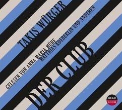 Der Club, 5 Audio-CDs - Würger, Takis