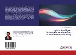 9783330002166 - Samuel, Dr. G. Giftson: Hybrid Intelligent Techniques for Generator Maintenance Scheduling - Buch