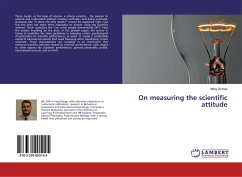9783330005105 - Dirinea, Mihai: On measuring the scientific attitude - Buch