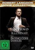 The Da Vinci Code - Sakrileg, Illuminati, Inferno DVD-Box