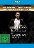 Robert Langdon Movie Collection: Inferno / Illuminati / The Da Vinci Code - Sakrileg