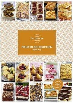 Neue Blechkuchen von A-Z - Dr. Oetker