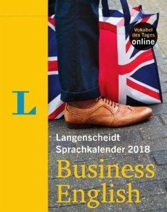 Langenscheidt Sprachkalender 2018 Business Engl...