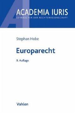 Europarecht - Hobe, Stephan