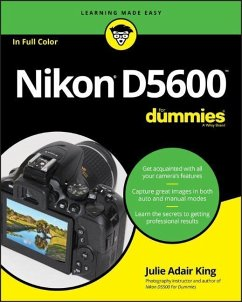 Nikon D5600 For Dummies - King, Julie Adair