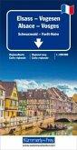 Kümmerly+Frey Karte Elsass Vogesen / Alsace Vosges Regionalkarte