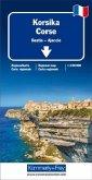 Kümmerly+Frey Karte Korsika /Corse Regionalkarte