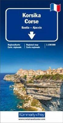 Kümmerly & Frey Karte Korsika /Corse