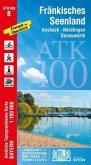 Amtliche Topographische Karte Bayern Fränkisches Seenland
