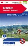 St. Gallen, Appenzell, Toggenburg Velokarte