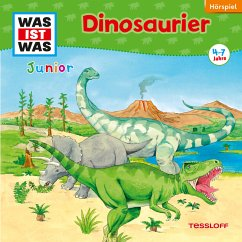 Dinosaurier / Was ist was junior Bd.3 (MP3-Download) - Wilhelmi, Friederike