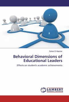 9783330001022 - El-Nashar, Sahar: Behavioral Dimensions of Educational Leaders - Buch